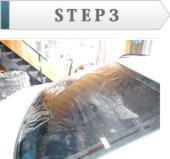 リアドアガラス施工イメージSTEP3